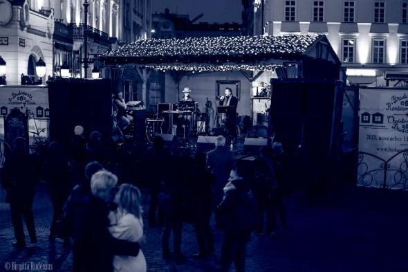 Blue X-mas Market Music