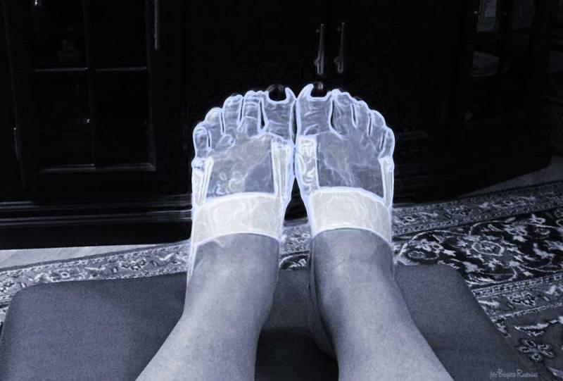 Blue Artros Feet