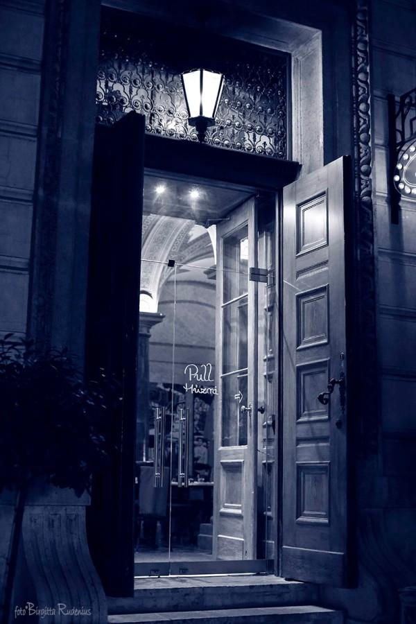 Blue Open Door