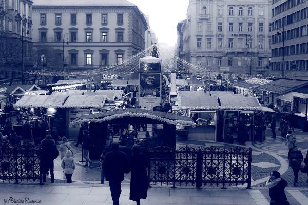 Blue Christmas Market, Budapest