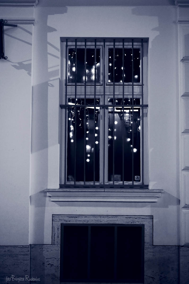 Blue Window Light