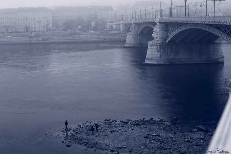 Blue Margit Bridge, Budapest