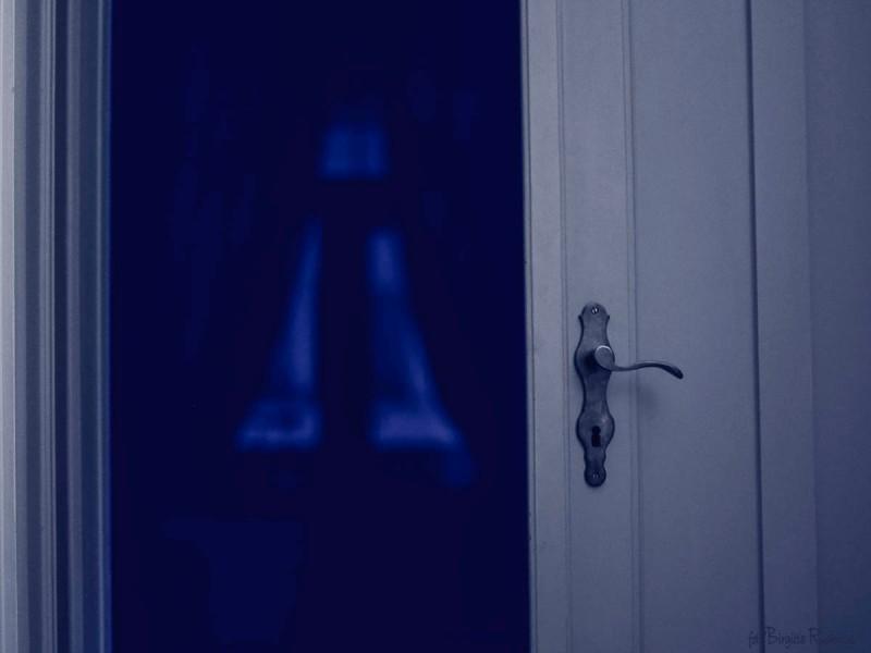 Blue Morning Door