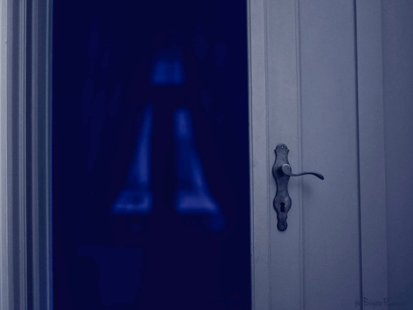 Blue Morning Door